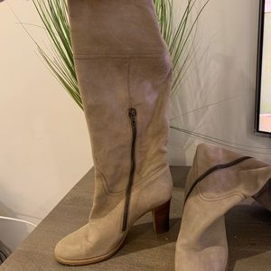 Jcrew tall leather boots